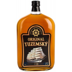 Original Tuzemský - plochá lahev 1L 40%