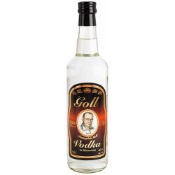 Vodka Goll 3 x filtrovaná - kulatá 0,5L 40%