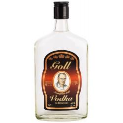 Vodka Goll 3 x filtrovaná - plochá 0,5L 40%