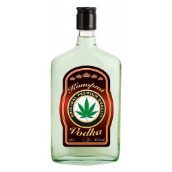 Konopná vodka 0,5L 40%