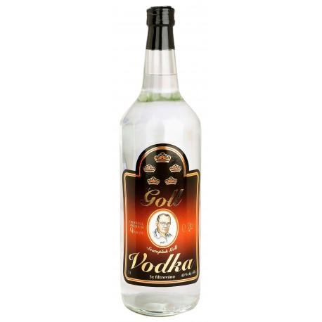 Vodka Goll 1l 40% - kulatá