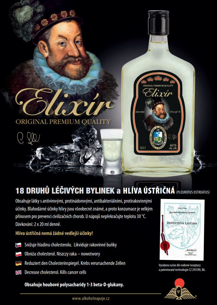 Patentová listina - alkoholnapoje - Svatopluk Goll