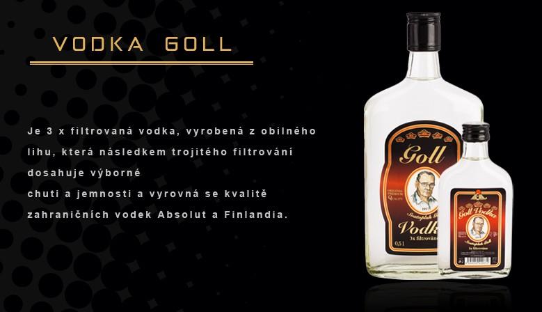 GOLL vodka
